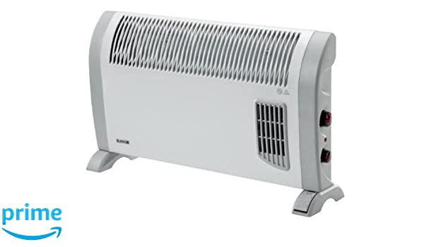 Supra Quickmix 2-2000T Color blanco 2000W Radiador - Calefactor (Radiador, Pared, Piso, Color blanco, Giratorio, 2000 W, 775 mm): Amazon.es: Hogar