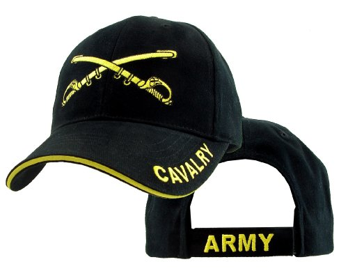 US Army Cavalry Crossed Swords Ball Cap