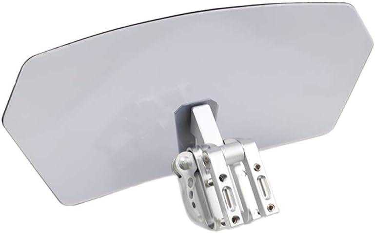 GUAIMI Universale moto Deflettore antivento per estensione schermo parabrezza per T-riumph K-awasaki H-arley H-onda B-M-W Y-amaha S-uzuki K-T-M I-ndian V-ictory