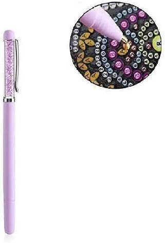 Square Round Crafts Rhinestones Embroidery 5D Diamond Painting Point Drill Pen