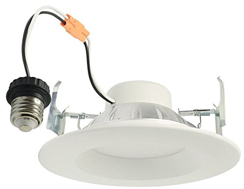 4 Project Source 65-Watt Equivalent Warm White Dimmable LED Recessed Retrofit