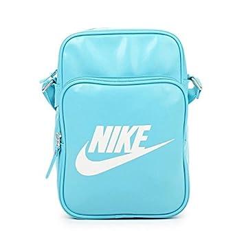 Talla /Única Nike Tasche Heritage SI Small Items II Bolsa de Hombro Unisex Negro//Blanco