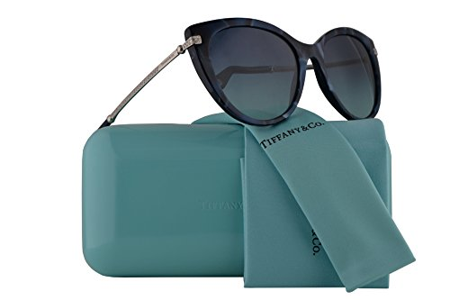 Tiffany & Co. TF4143B Sunglasses Shell Blue w/Blue Gradient Lens 55mm 82009S TF4143-B Tiffany&Co. TF 4143B TF - Ophthalmic Tiffany Frames
