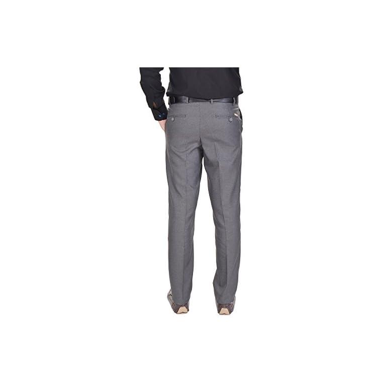41PpnlvUscL. SS768  - AD & AV Men's Regular Fit Formal Trousers