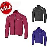 Didoo ✸CHRISTMAS✸ offer Cycling jacket waterproof mens Winter Rain Coat Hi  Viz Full Zipper e4f4bb487