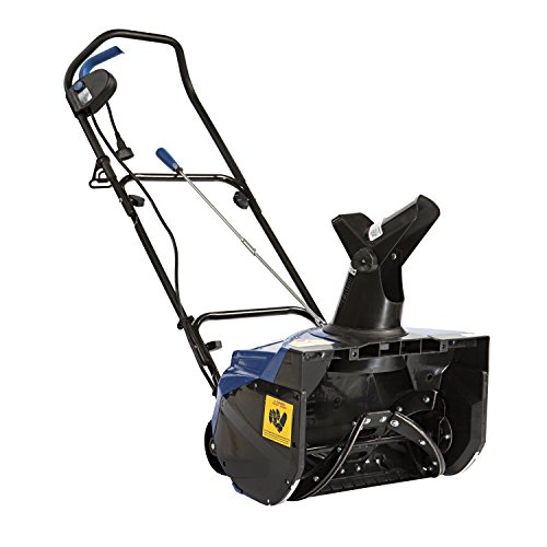 (Snow Joe SJ620 Electric Single Stage Snow Thrower | 18-Inch | 13.5 Amp Motor)