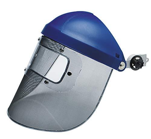 (3M 10078371825116 Steel Mesh Faceshield with Eye Shield, Standard, Steel)