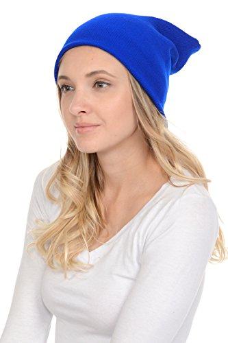 LA Gen Unisex Plain Beanie Toboggan Long Knit Hat/Cap