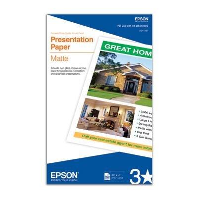 Epson America S041067 Photo Paper Legal 100 (Epson America Photo Paper)