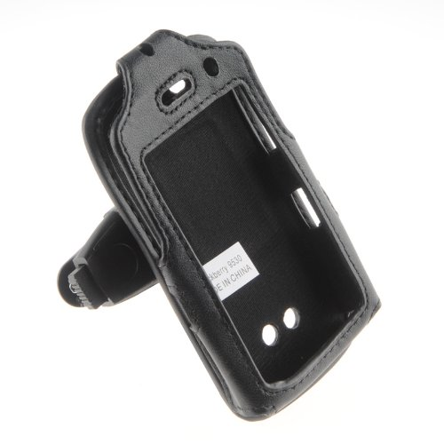 Wireless Technologies Premium Leather Case for BlackBerry Storm 9500 (Storm Blackberry Case)