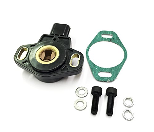 NEW 03 - 06 HONDA ELEMENT AND ACCORD 4 CYLINDER TPS THROTTLE POSITION SENSOR for K24 engine WITH GASKET AND (Honda Odyssey 4 Cylinder)