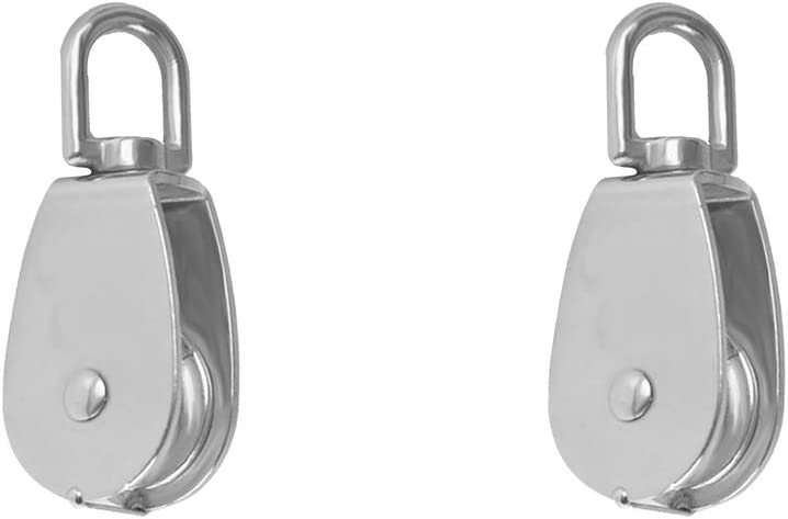M25 Pulley Pulley Single Set Kloware 2 X Pulleys Stainless Steel M25