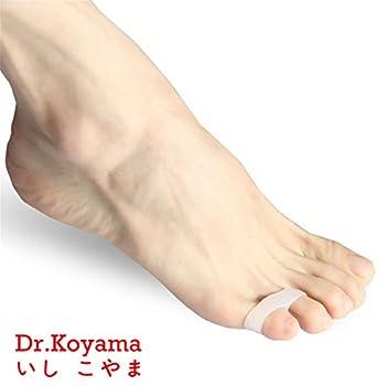 Dr.Koyama Pinky Toe Bunion Corrector Straightener Seperator Splint Spreaders Pad Pain Relief (Pack of 5 Pcs)