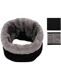 Kids Girls/Boys Winter Knitted Infinity Scarf Polar...