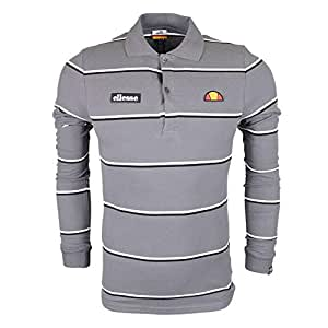 Ellesse MAFFIO Top - Camiseta de Manga Larga, Hombre, Gris(Grey ...