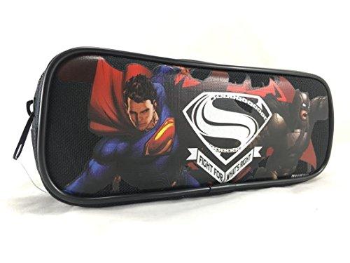 Batman v Superman Pencil Case/Holder/Pouch (BLACK)