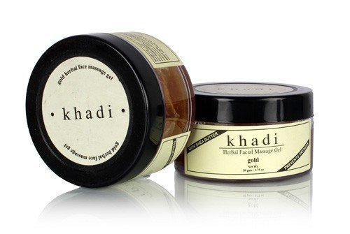 Khadi Face Gold Massage Cream - 50 ml by Khadi Natural by Khadi Natural