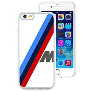 Bmw M Sport White Abstract Design Custom iPhone 6 4.7 Inch TPU Case