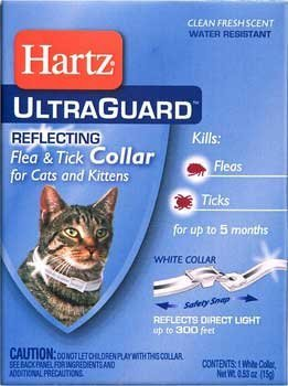 Hartz Advanced Care 2 in 1 Flea & Tick Collar For Cats & Kittens (Pack of 6)