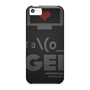 New Style Tpu 5c Protective Case Cover/ Iphone Case - I Am Just A Geek