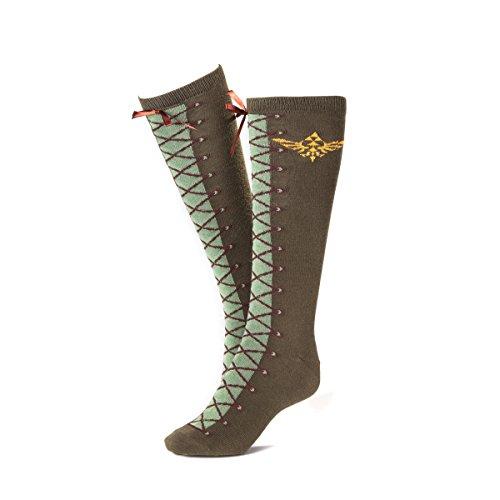 Zelda zonkh060226ntn Cosplay Boot-Effekt Knie Hohe Socken (One Size)