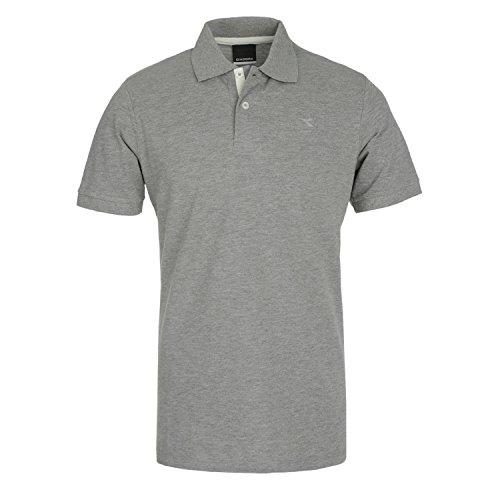 Diadora Polo Shirt Polo PQ for Man Grigio Melange Medio 4bVnctV