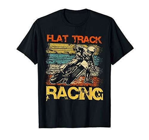 (Vintage Flat Track Motorcycle racing speedway shirt)