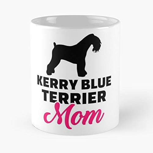 Kerry Blue Terrier Coffee Mugs Unique Ceramic Novelty Cup