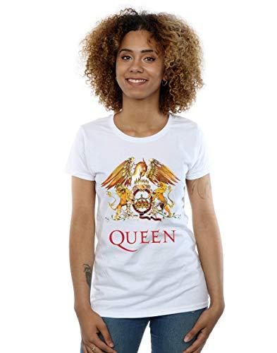 Queen Women's Crest Logo T-Shirt -