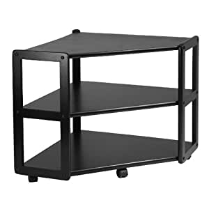 Amazon Com Winsome Wood Derby Corner Tv Stand With Shelf