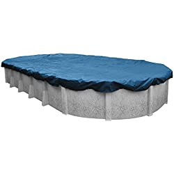 Robelle 351833-4 Super Winter Pool Cover for Oval Above Ground Swimming Pools, 18 x 33-ft. Oval Pool
