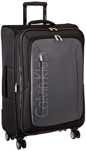 Calvin Klein Tremont 25 Inch Upright Suitcase, Gray, One Size by Calvin Klein