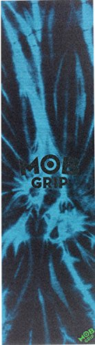 Mob Tie Dye 1 Sheet 9x33 Grip Tape, Black/Blue