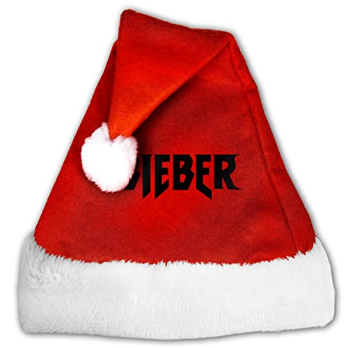 MountGet Justin Bieber Cap Hat Christmas Hat with Plush Trim ∧ Comfort Liner