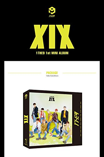 1THE9 - XIX (1st Mini Album) CD+104p Booklet+2Photocard+12Lyrics Book+1Speical Card+1Standing Photo+Folded Poster by POCKETDOL STUDIO (Image #1)