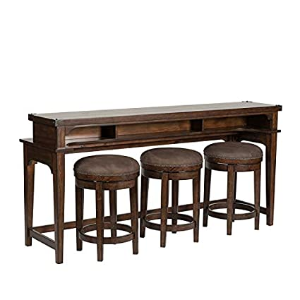 Swell Amazon Com Liberty Furniture 4 Piece Console Set 1 Console Gmtry Best Dining Table And Chair Ideas Images Gmtryco