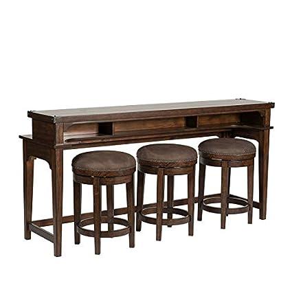 Brilliant Amazon Com Liberty Furniture 4 Piece Console Set 1 Console Pabps2019 Chair Design Images Pabps2019Com