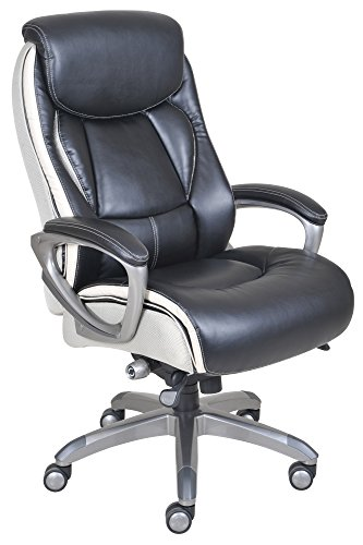 Serta 44942 Smart Layers Executive Tranquility Office Chair, Multicolor