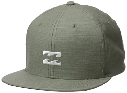 Billabong Men's All Day Heather Snapback Hat Green Heather One Size ()