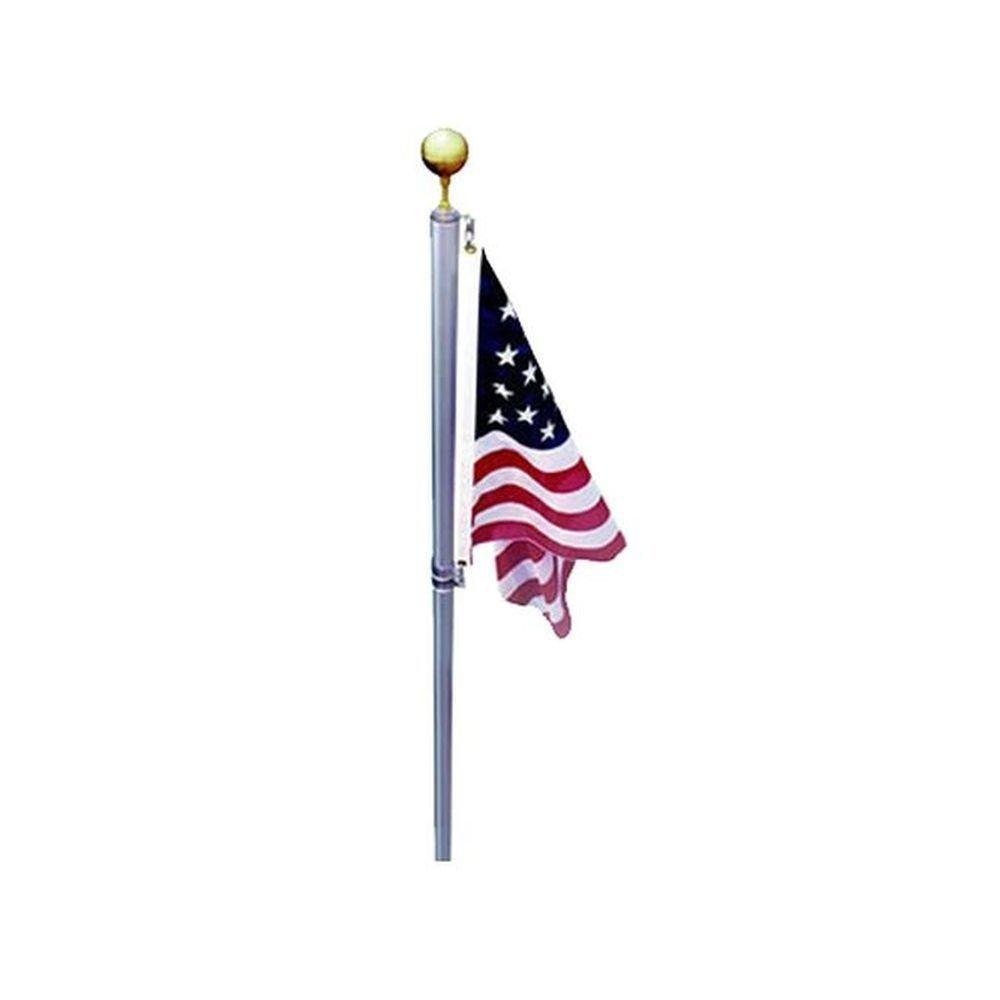 EZPole Defender 21 ft. Sectional Flagpole Kit with Swivels