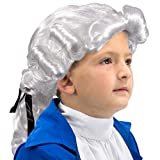 Boo! Inc Colonial Powdered Wig | Children's | Halloween Costume Accessory