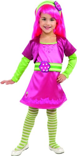 Rubies Strawberry Shortcake and Friends Deluxe Raspberry Tart Costume, Toddler