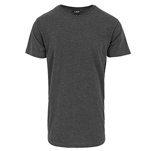 t Xs5xlanthracite shirt forme Extra en Lang shirt forme shirt de t Shirt surdimensionné T Urbandreamz Herren en de Rundhals long E9IDH2