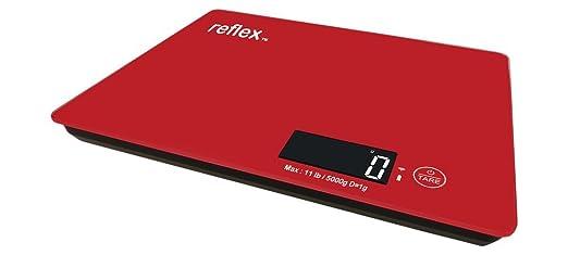 Reflex NutriCrystal - Báscula nutricional con Bluetooth para iPhone 4S, 5, 5S, 5C, smartphones, iPod y iPad: Amazon.es: Electrónica