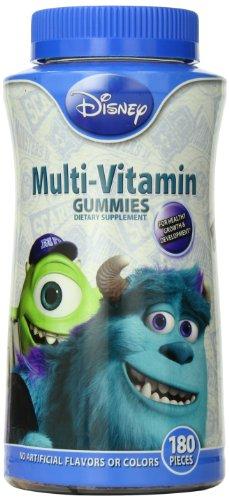 Disney Multivitamines Gummies, Monstres Academy, 180 comte