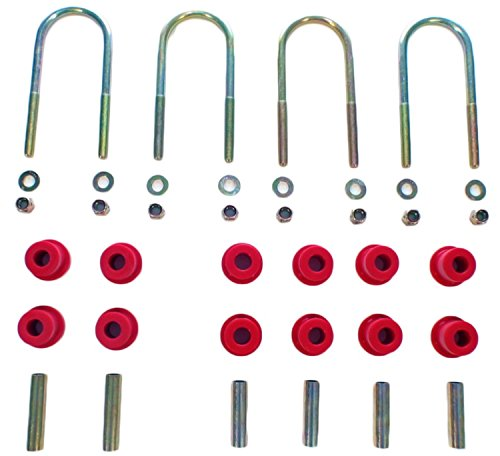 Rancho RS741 U-Bolt Kit, (Set of 4) (Rancho Axle U-bolt Kit)