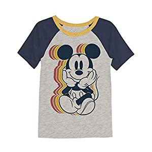 Jumping Beans Boys 4-8 Mickey Retro Graphic Tee