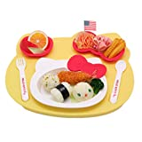 Hello Kitty Lunch Plate for Kids with Hello Kitty