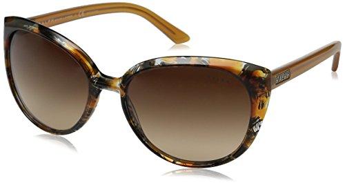 Ralph RA5161 Sunglasses-115213 Yellow Tort (Light Brown Gradient - Warranty Sunglasses Lauren Ralph