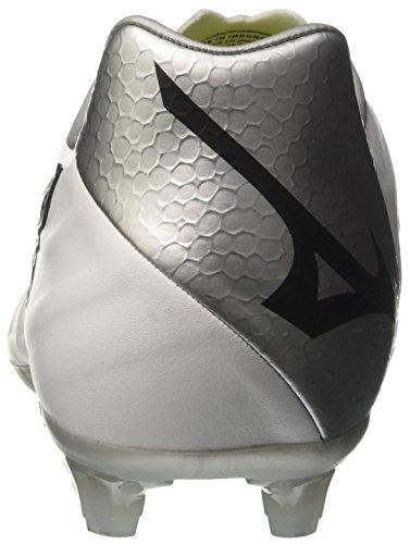 Mizuno Rebula V2, Scarpe da Running Uomo Multicolore (White/Black/Silver 09)
